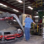 Auto. Mold Handler + Pouring