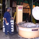 1 of 5 Melting Furnaces for 319-356-713 alloys